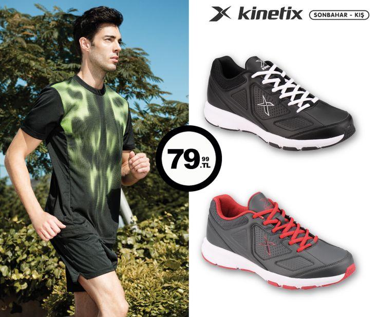 Kinetix'in koşu ayakkabıları ile sağlıklı sporlar... #AW15 #autumn #sonbahar #yenisezon #fashion #fashionable #style #stylish #kinetix #kinetixayakkabi #shoe #shoelover #shoeoftheday #shoes #shoesoftheday #ayakkabı #shop #shopping #men #menfashion #menstyle