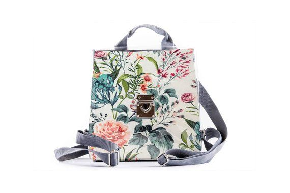 4a623a29a Small Backpack, Mini Floral Backpack Small Backpack Purse, Small Backpacks  for women, Vegan Bag, Uni