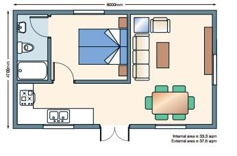 Double Annexe Floorplan Planos Dptos Pinterest
