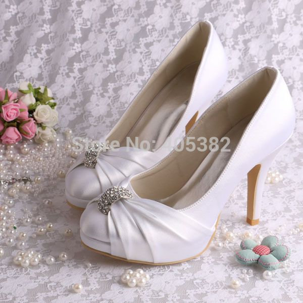 Women Bridesmaid Bridal Wedding Pumps Strappy Open Toe Sandals Heels dropship
