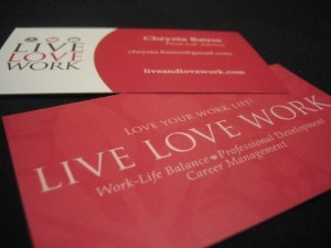 Market Yourself - Why you need a business card