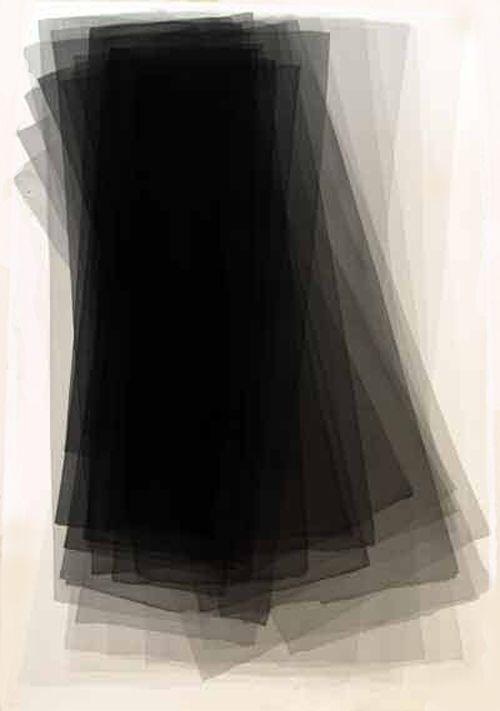 Joachim Bandau - Black Watercolours