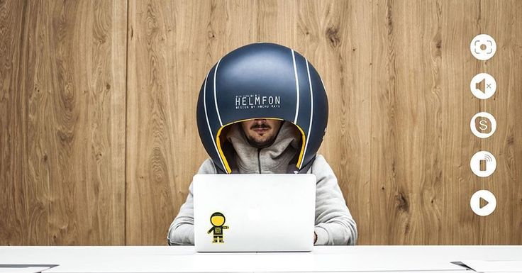 Isolation Helmet Blocks Out Background Noise for a More Focused and Productive Workday