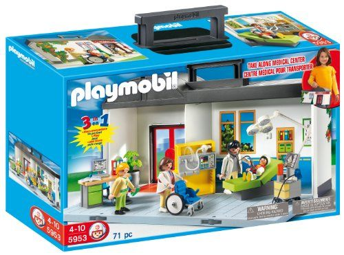 PLAYMOBIL Take Along Hospital Playset PLAYMOBIL® http://smile.amazon.com/dp/B005HJ1STG/ref=cm_sw_r_pi_dp_75LCwb0VR9NST