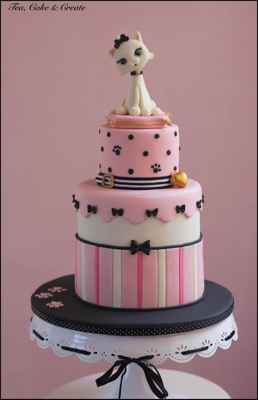 Birthday Cake Designs Cats
