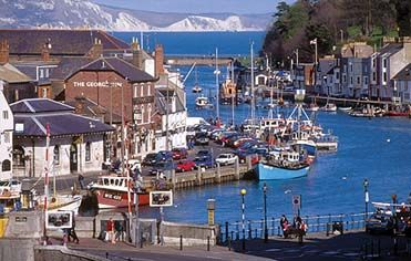 The lively seafront town of Weymouth, Dorset.... see, its not all rain and cold weather!!!