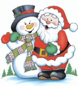Cartoon Snowman | Writing a letter to santa claus | Cartoon Santa