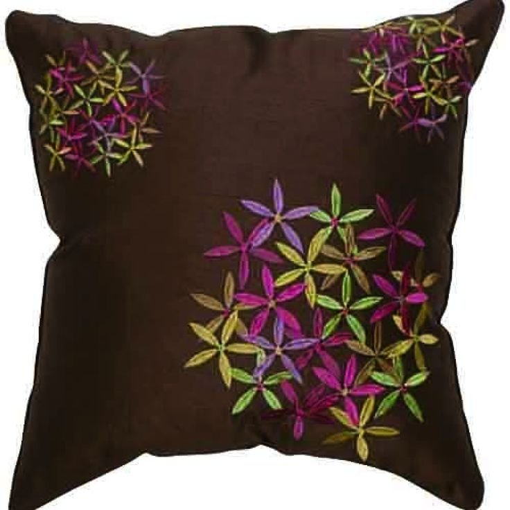 Country Style Floral Polyester Decorative Pillow Cover  #cushions #pillows #decor #pattern #country #homedecor #livingroom