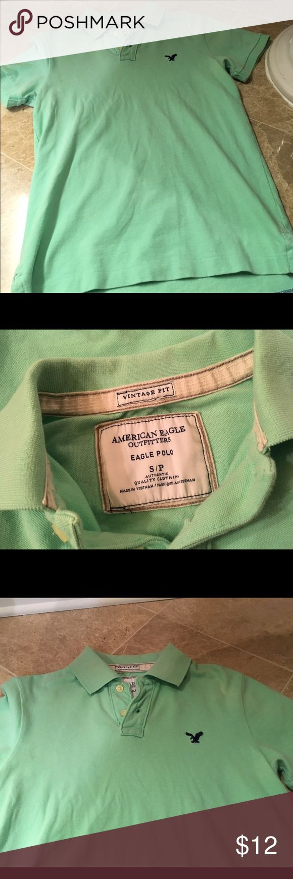 American eagle shirt Men's American eagle shirt American Eagle Outfitters Shirts Polos
