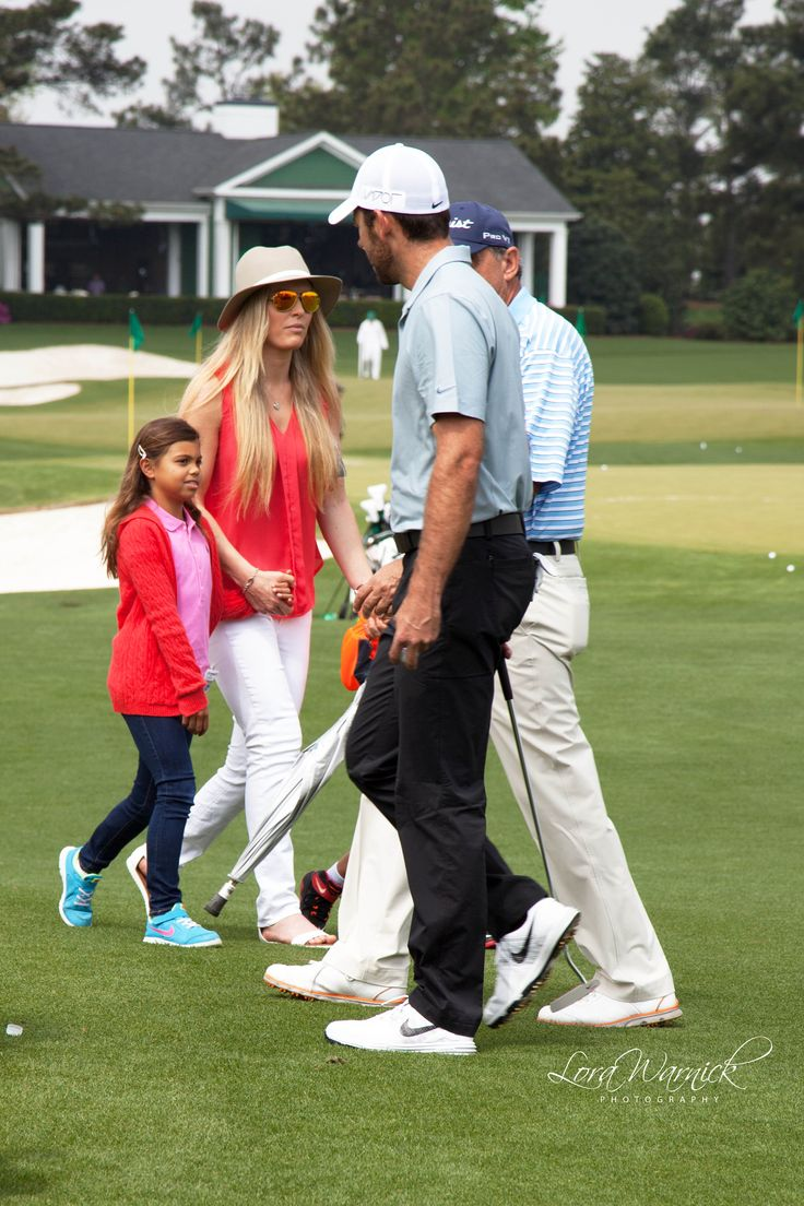 Lindsey Vonn and Tiger Woods' daughter at Masters 2015