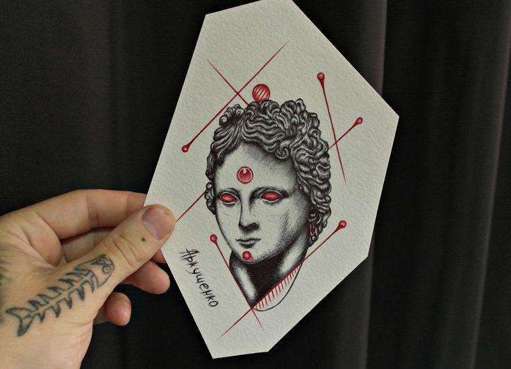 #девушка #ренесан #ренессанс #тату #татуировка #татумастре #эскиз #рисунок #творчество #искусство #арт #гугл #яндекс #tattoo #tattoos #google #yandex #art #cool #краснодар #динская #васюринская #пластуновская
