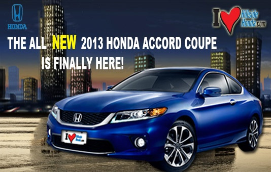 The 2013 honda accord at hillside honda come check out for Yonkers honda service center