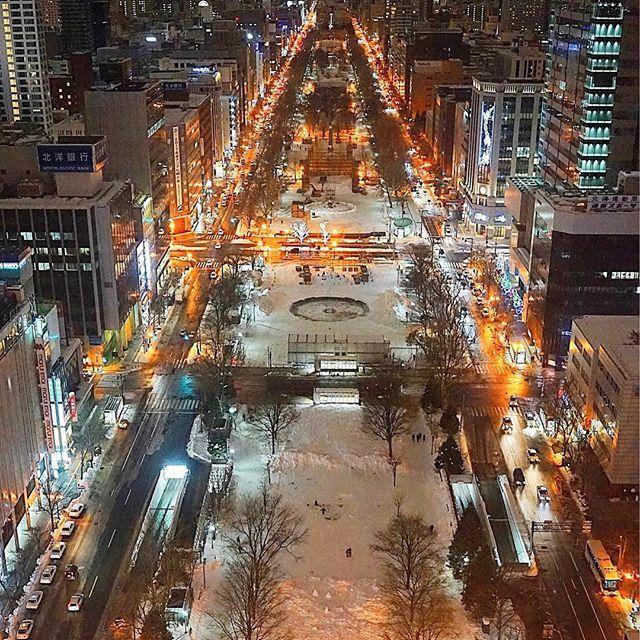 Instagram【lovelynoel283】さんの写真をピンしています。 《·˖✶ こんにちは😄 さっぽろテレビ塔...初めて登りました🗼 雪祭り❄️の時は、綺麗だろうなぁ😍✨ * * Location : さっぽろテレビ塔 / Sapporo * * #札幌 #さっぽろテレビ塔 #札幌テレビ塔 #大通り公園 #夜景 #sapporo #nightview #world_bestnight #loves_night #icu_nightlife #noitenoinstagram #total_night #addicted_to_nights #pocket_nights #ptk_night #best_expression_night #japan_night_view #yakei_luv #loves_united_nightcolors  #gf_afterdark #traveling_night #night_arts  #match_night #pocket_nights #nightphotography…