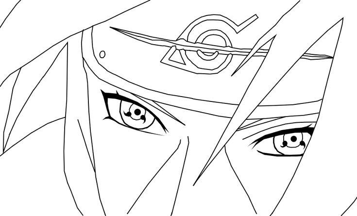 Itachi Coloring Pages Naruto