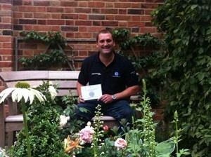 Bespoke Landscapes winner of Silver Medal at Hampton Court Flower Show 2012