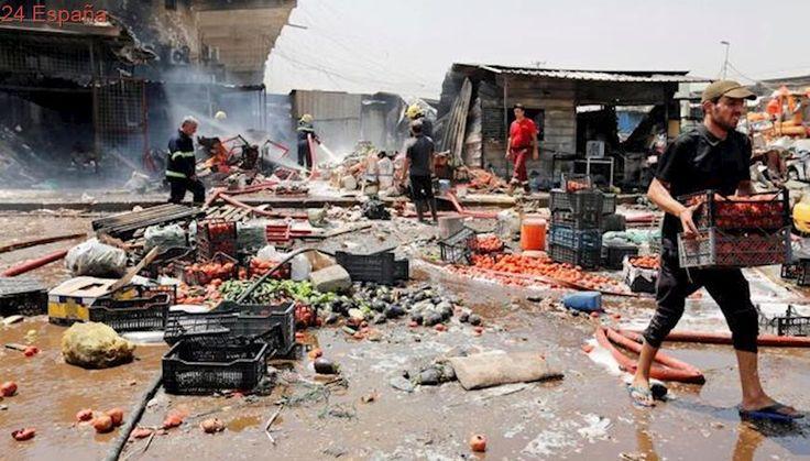 Al menos 11 muertos en un atentado con coche bomba en Bagdad
