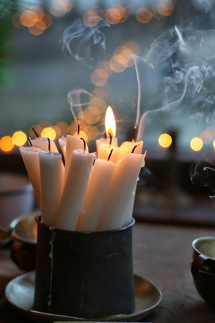 Holiday Candles | By My Lovely Mess
