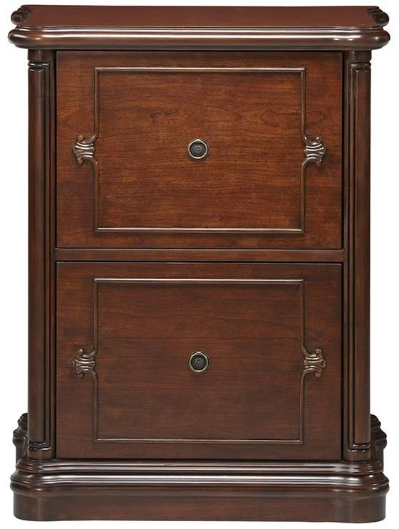 Versailles File Cabinet In Cherry Wood   X X