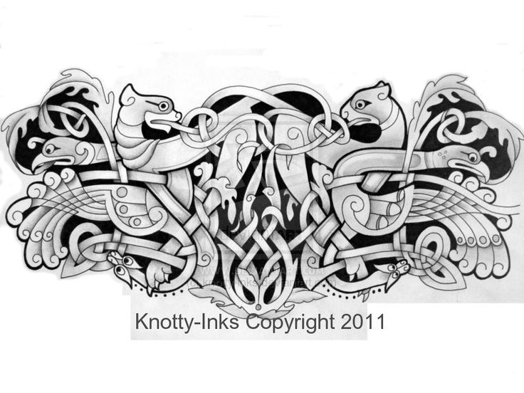 Celtic armband tattoo design by Tattoo-Design.deviantart.com on @DeviantArt