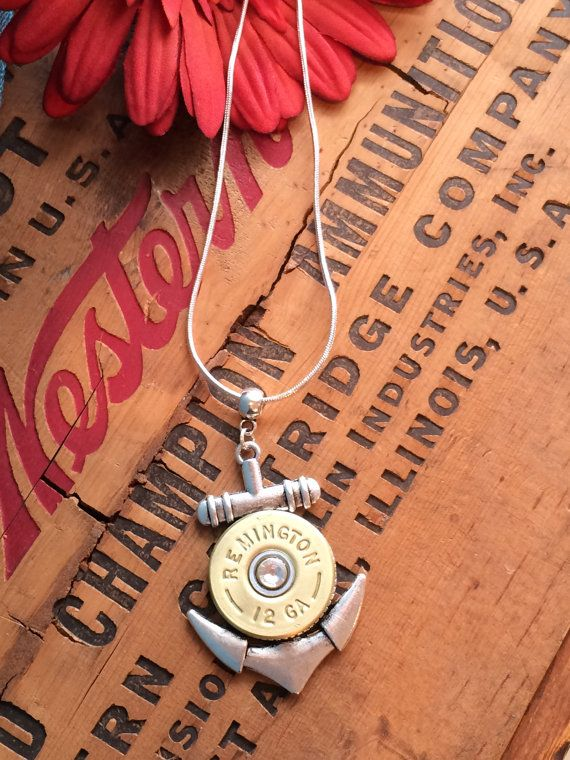 Hey, I found this really awesome Etsy listing at https://www.etsy.com/listing/174176284/bullet-jewelry-nautical-anchor-bullet