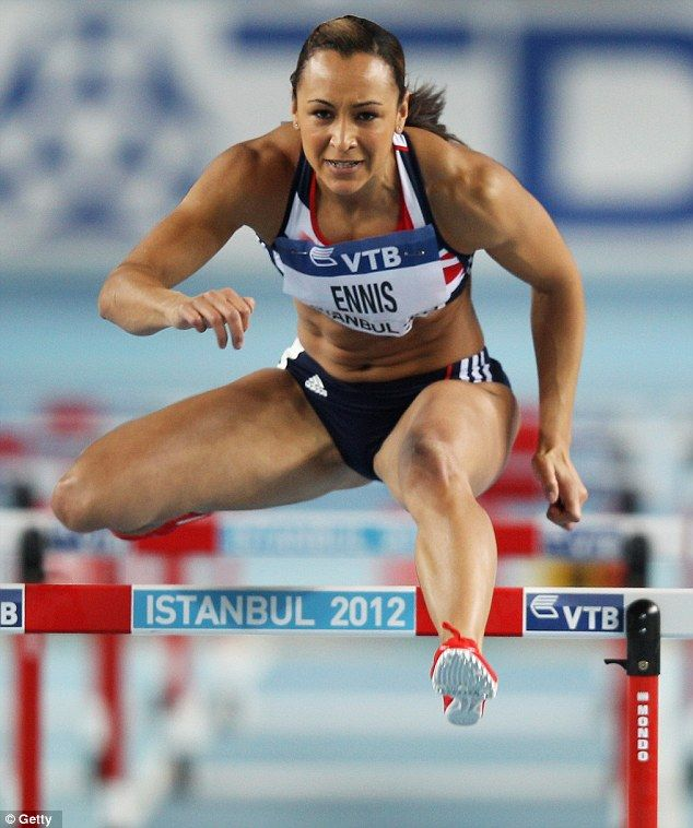 Jessica Ennis doing hurdles, INSPIRATION