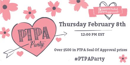 Join PTPA this Thursday, February 8th at 12:00PM EST for a #PTPAParty! We'll be celebrating our latest #PTPA Seal of Approval winners! #RSVP now!