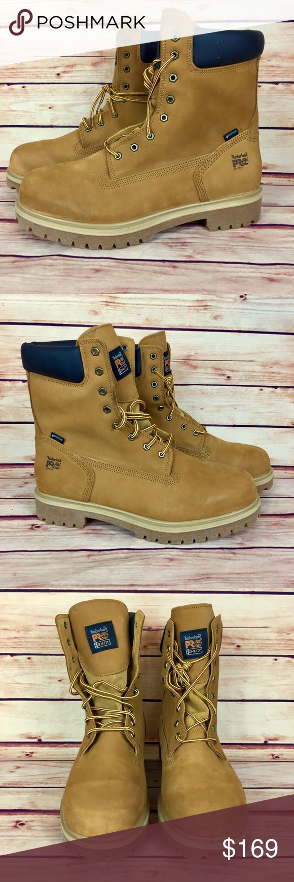 """NEW Timberland Pro Direct Attach 8"""" Soft Toe Boots Timberland Pro Direct Attach 8"""" Waterproof Soft Toe Boots  Condition: Brand New with Box  Style Number: 26011  Color: Wheat Nubuck   Size: 15W   🚫No Trades🚫 🚫No Spamming🚫 . . 📦📬 Fast Shipping! 📦📬 I Ship Same Day Orders Before 9am PST otherwise Next Business Day.  . . Timberland Shoes Boots"""