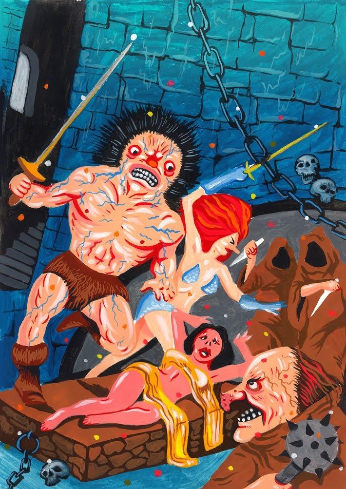Conan De Barbaar by Dieter VDO