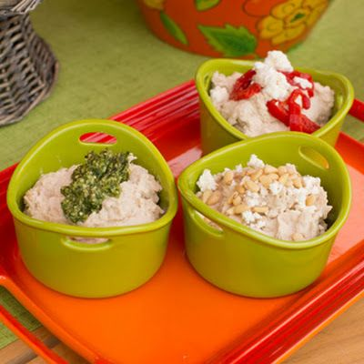 White Bean Hummus (Vitamix - Jill Bauer QVC) @keyingredient #tomatoes