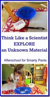 Think Like a Scientist: Explore an Unknown Material