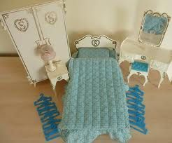 Bedroom furniture for my Sindy doll! I had this set : ))