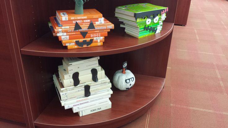 Halloween Décoration bibliothèque