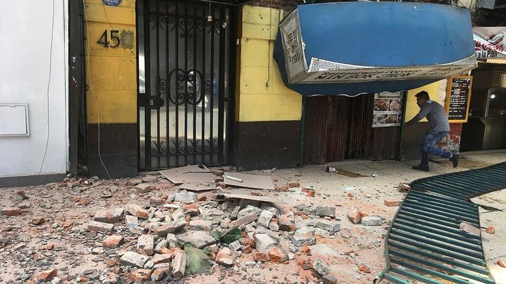 FOX NEWS: 7.1 magnitude earthquake kills two in Mexico collapses buildings; reports of people trapped