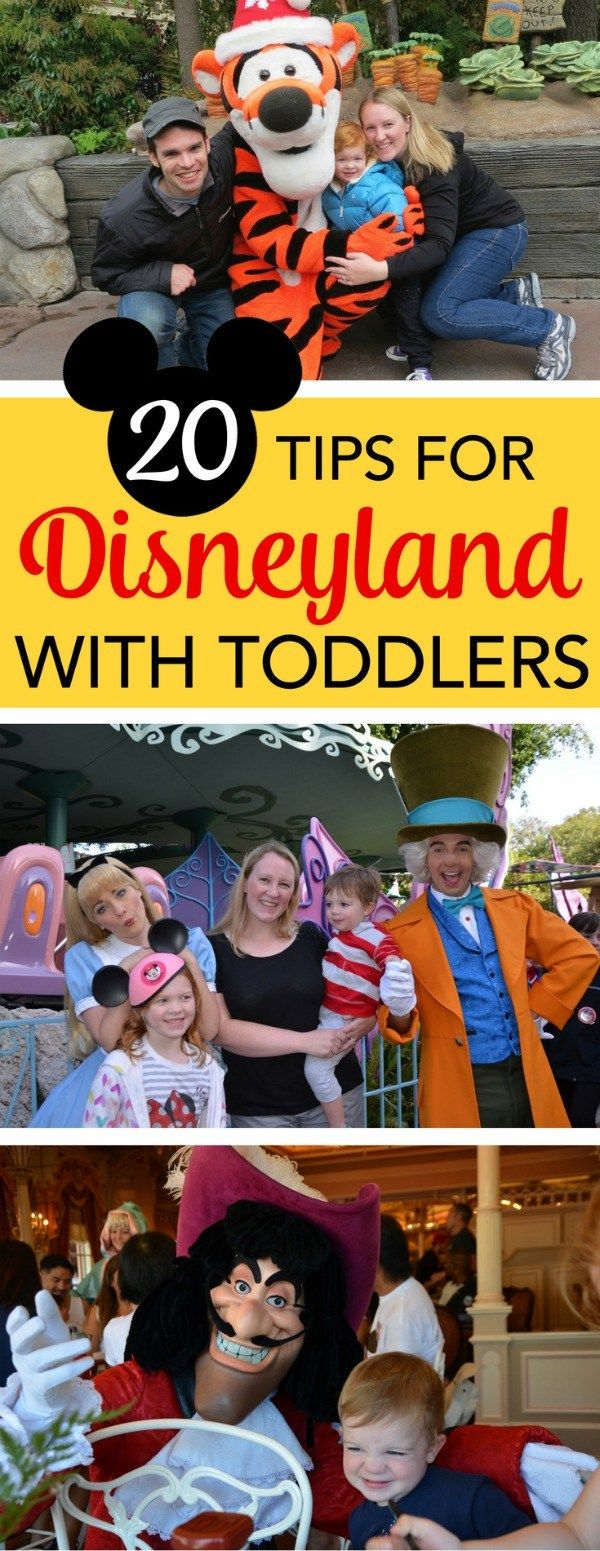 20 Tips for Disneyland with Toddlers + Free Anaheim Hotel Night Giveaway!