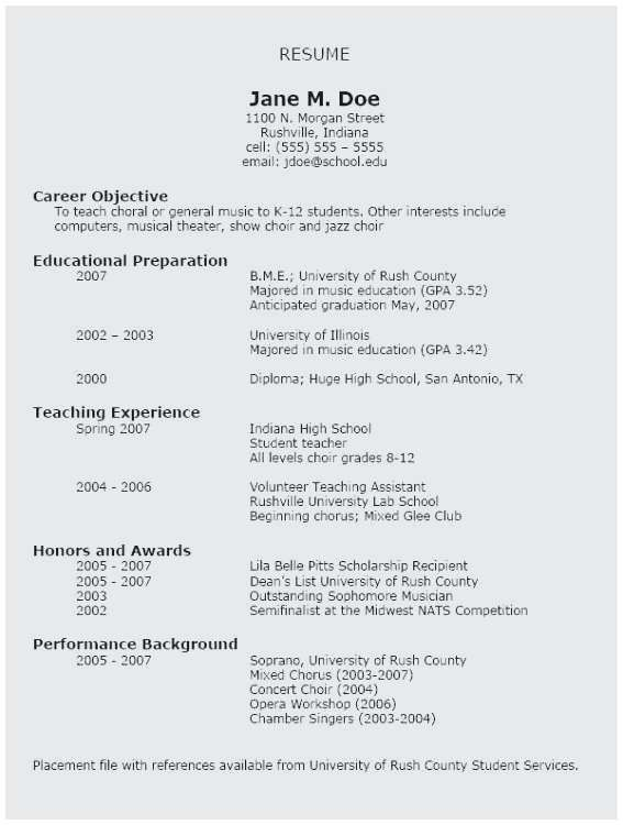 74 Luxury Photos Of Sample Resume For High School Teacher With