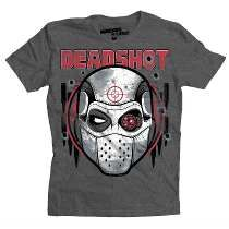 Playera Deadshot Mascara De Latex Suicide Squad Dc Comics