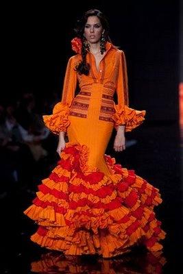 traje de flamenca by Juana Martín, a designer from Córdoba