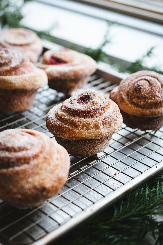 Orange Cranberry Morning Buns | Hint of Vanilla