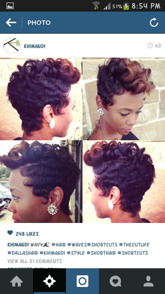 16 best images about finger waves on Pinterest | Peruvian