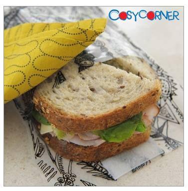 Τέλος στις πλαστικές σακούλες μίας χρήσης για το περιτύλιγμα του κολατσιού! Η επαναχρησιμοποιούμενη θήκη Kozy® Wrap είναι η έξυπνη λύση για την αποθήκευση και μεταφορά του φαγητού. http://www.cosycorner.gr/el/category/ώρα-για-φαγητό/θήκη-φαγητού-food-kozy®-1/