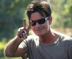 Charly Sheen peace