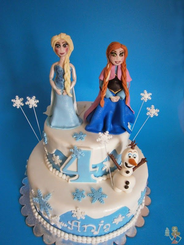 Frozen Party Cake Images