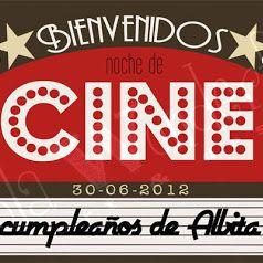 Diseños personalizados fiestas: Cumple de Cine