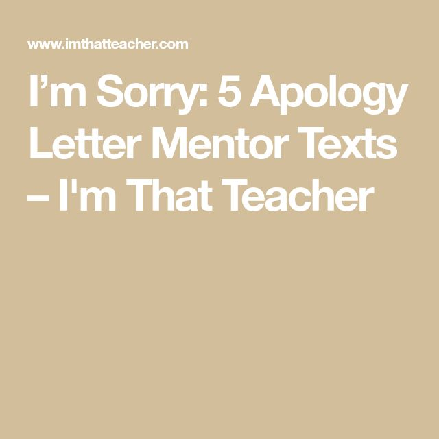 The 25+ best Im sorry letters ideas on Pinterest Sorry letter, I - apologize letter for mistake
