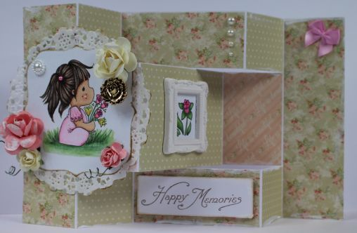 You Scrap With Me: Tilda With Spring Flowers