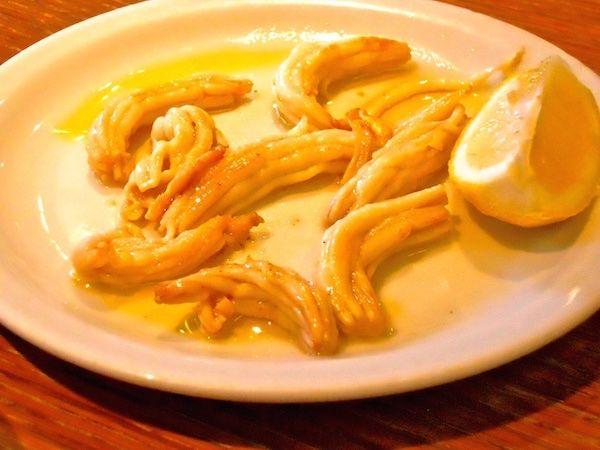Espardenyes — Sea slugs (or sea-cucumbers) at Paco Meralgo, Barcelona