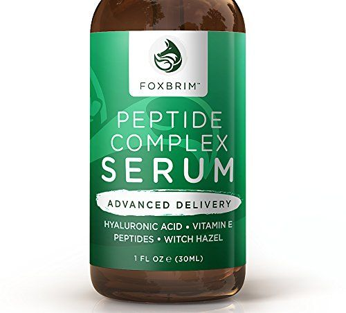Amazon.com: Peptide Complex Serum - BEST Anti Aging Serum - Anti Wrinkle Skin Care - Advanced Delivery - Facial Skin Care - Natural & Organic - Plump, Smooth and Even Skin - For Collagen Production & Optimal Skin Health - Amazing Guarantee 1oz: Beauty