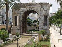 Roman Arch of Marcus Aurelius, Tripoli, Libya  THE LIBYAN  Esther Kofod  www.estherkofod.com