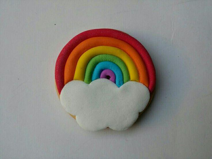 galleta arcoiris. Cupcakes&co