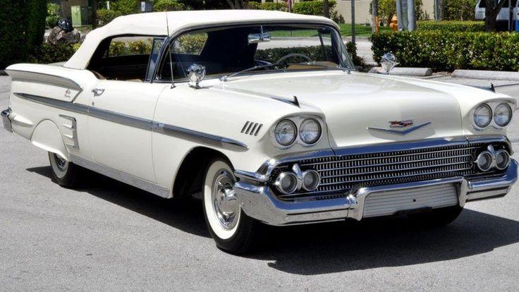 1958 Chevrolet Impala Convertible - 1 #chevroletimpala2013